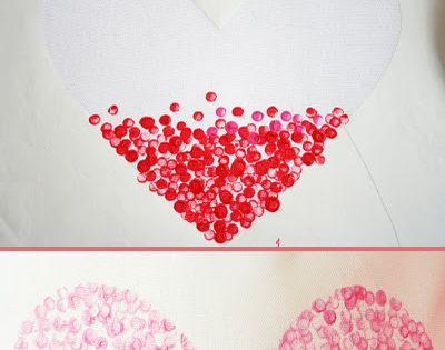 DIY Fabulous Heart Bag (I think I will do the same technique