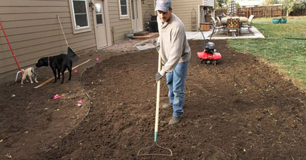 Uc Guide To Healthy Lawns Preparing The Site For Planting Turf Healthy Lawn Turf Lawn