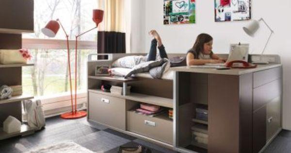 lit enfant design modulable avec rangement meubles gautier charlie pinterest meubles. Black Bedroom Furniture Sets. Home Design Ideas