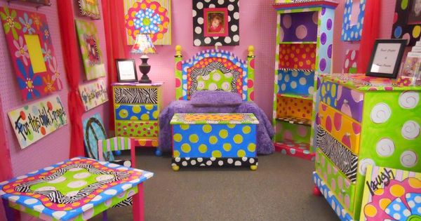 Great site for handpainted furniture inpiration...fun for kids!