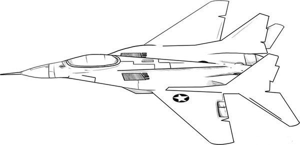 Military Airplane Coloring Pages Picture 10 Jpg 600 290