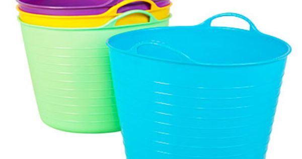 Soft Round Ice Tub 10 Gallon At Big Lots Toy Storage Laundry Baskets So Many Great Uses Laundry Tubs Round Ice Tub