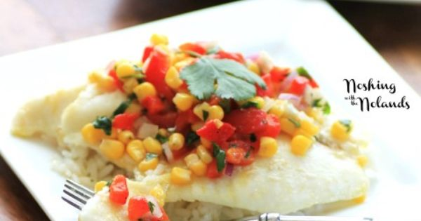 Red peppers, Salsa and Fish on Pinterest