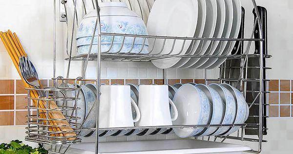 Product Dish Rack Drying Drying Rack Kitchen Wall Mounted Dish Rack