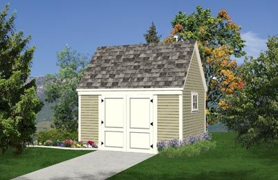 10 X14 All Purpose Storage Shed Plans Free Shed Plans Shed With Loft Building A Shed