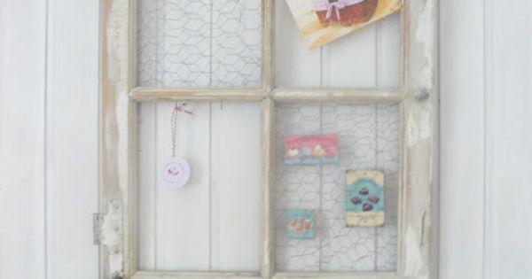 alter fensterrahmen ideas diy pinterest alte fensterrahmen fensterrahmen und alter. Black Bedroom Furniture Sets. Home Design Ideas