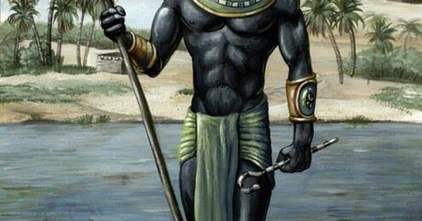 Egypt Warrior Illustration Anubis Pyramid Fantasy Art: Anubis Is The Greek Name For A Jackal-headed God
