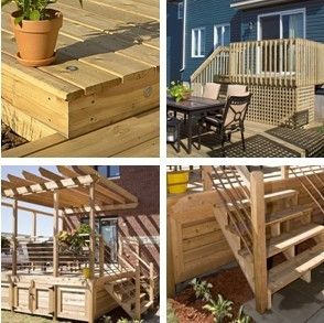 Free Do It Yourself Deck Building Guides From Rona Ca Get Great Planning And Building Advice And Finishing Gui Building A Deck Outdoor Wood Projects Pergola