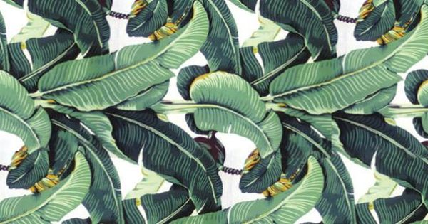 hinson martique wallpaper palm leaf interiors