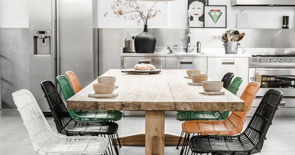 Hkliving industrieel vintage scandinavisch kleur decoratie woonaccessoires woonkamer interieur - Eetkamer interieur decoratie ...