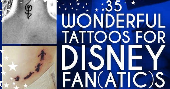 35 Wonderful Tattoos For Disney Fan(atic)s - BuzzFeed --- I really like
