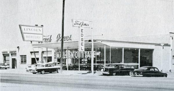 wichita falls texas history 810 e scott fred jones lincoln mercury edsel from 1958 later. Black Bedroom Furniture Sets. Home Design Ideas