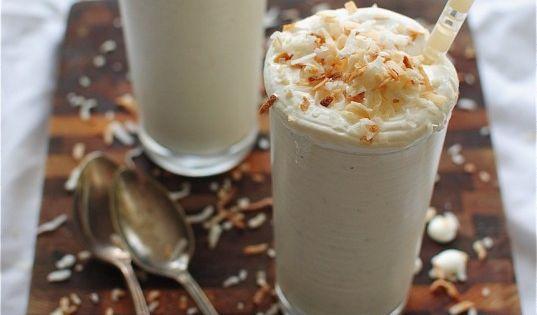 Pinterest | Coconut Milkshake, Toasted Coconut and Milkshakes