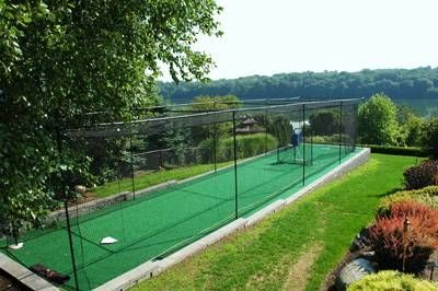 How To Build A Batting Cage Frame Batting Cage Backyard