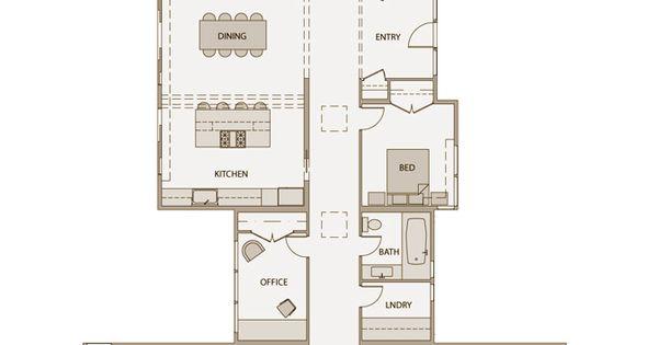 Stillwater Dwellings Floorplan Sd152 With Nearly 72 Feet
