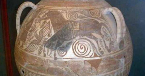 Cer Mica Ib Rica Estilo Elche Archena Archaeological