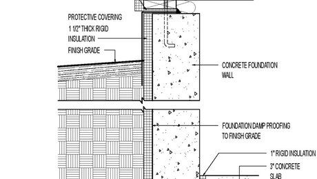 How To Protect And Finish Insulation On An Exterior Foundation Wall Foundation Insulation Insulation Rigid Insulation