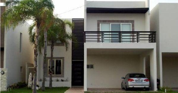 Fachadas de casas modernas fachada de casa moderna con for Fachadas duplex minimalistas