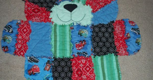 Bear rag quilt check it out on auntie em 39 s quilts such for Simplicity craft pattern 4993