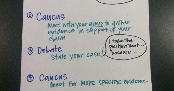 write debating essays