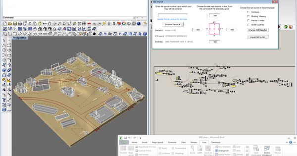 Gis import utility grasshopper 1 landscape for Gis for landscape architects
