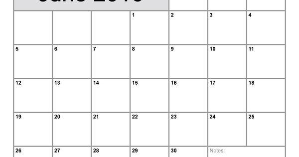 Calendar View June : June calendar printable monthly blank