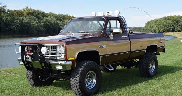 Sold At Scottsdale 2018 Lot 207 1984 Chevrolet K10 Custom 4x4