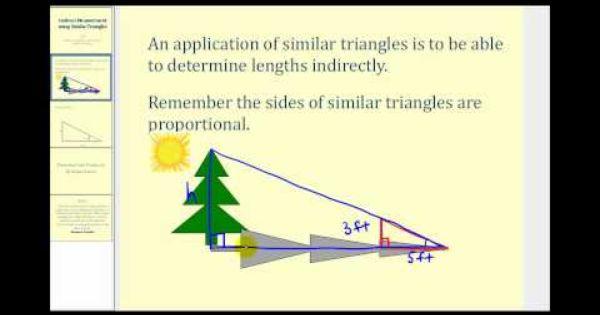 Indirect Measurement Using Similar Triangles Similar Triangles Triangle Worksheet Kids Worksheets Printables Similar triangles worksheets with
