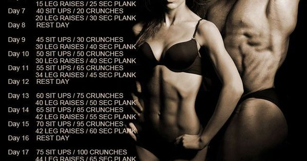 Abs 30 day challenge