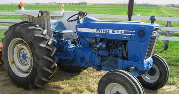 Ford 4600 Tractor Tralinks Com Tractors Ford Tractors For