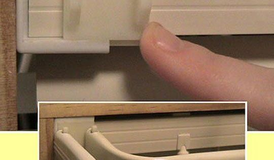 Slide On Bracket As An Alternative To Drilling Holes In The Wall For Your Curtain Rod Diy