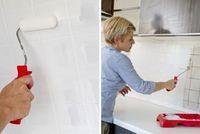 Repeindre Du Carrelage Mural Et Au Sol Comment Faire Repeindre Carrelage Credence Cuisine Repeindre Cuisine