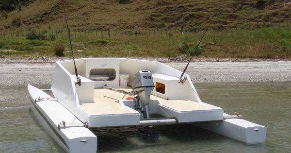 Small catamaran boat plans tekne pinterest sailing for Best small cabin boats