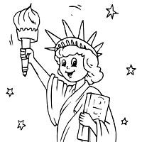 Check More At Https Bo Peep Club Statue Of Liberty Face Coloring