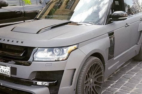 Hamann Ranage Rover Kuwait Hamann Rangerover Kuwait Luxury