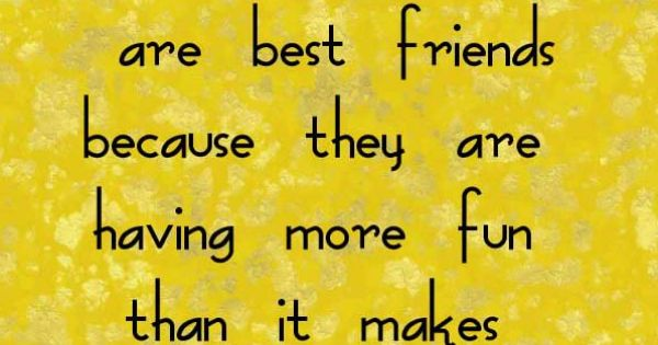 True Story - Best Friends