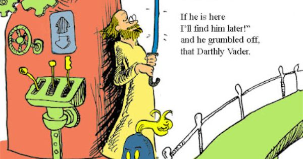The Force is Strong With Dr. Seuss