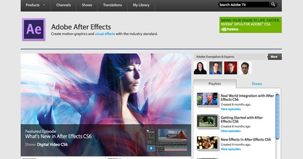 after effects student