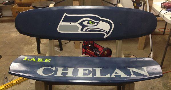 Diy Seahawks Wakeboard Bench Diy Crafts Pinterest Benches Seahawks And Diy And Crafts