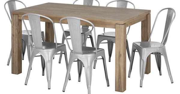 Toronto 7 Piece Dining Set with Worx Chairs building  : 0be14d51d74aabcbec5c0d60dae88021 from www.pinterest.com size 600 x 315 jpeg 29kB