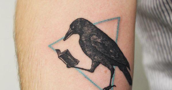 Black Raven Tattoo   Le Moustache Tattoo Parlour