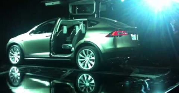 Tesla Unveils New Suv Prototype W Falcon Wing Doors I E Gullwing Go To 3 20 To See 300 Mile Range Faster Than A Porsche Tesla Model X Tesla Tesla Model