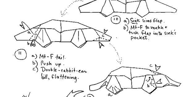 platypus origami p 2