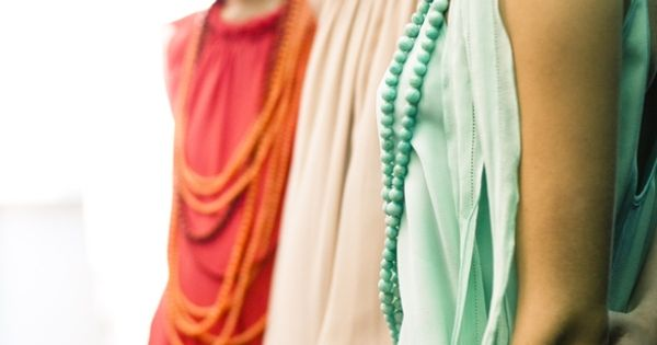 Colorful Roaring 20s style bridesmaids dresses. www.celebritystyleweddings.com @Jason Stocks-Young Jones Style Weddings