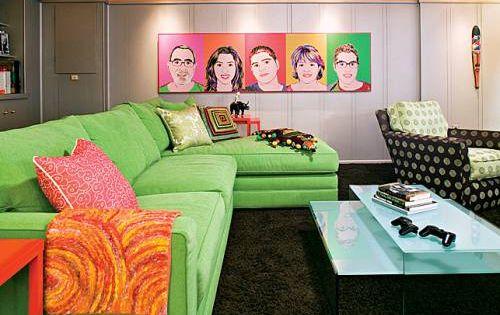 D Cor De Maison En Pop Art Pop Art Retro And Retro Interior Design