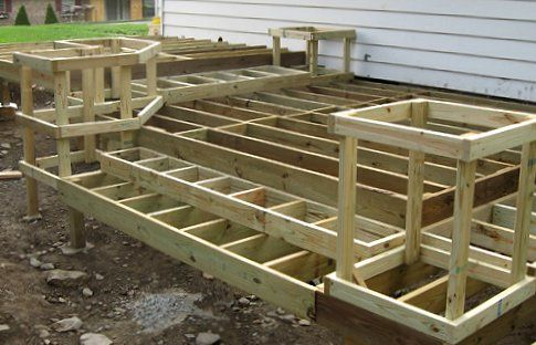 How To Build A Deck Free Diy Do It Yourself Step By Step Plans Building Deck Diy Deck Deck Steps Building A Deck
