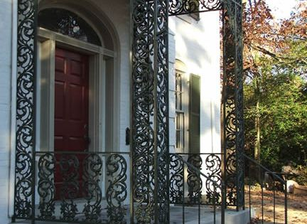 Custom Wrought Iron Porch Columns Facade Pinterest Porch Columns Columns And Porch
