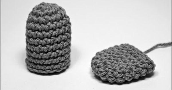 Amigurumi Sphere Tutorial : Amigurumis Formas Basicas - SemiCillindro y Ovalo ~ Bichus ...
