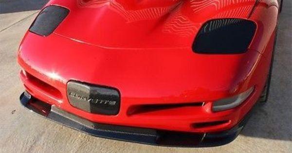 1997 2004 Chevrolet C5 Corvette Zr1 Styled Front Splitter Carbon Fiber 559 Corvette Zr1 Carbon Fiber Corvette