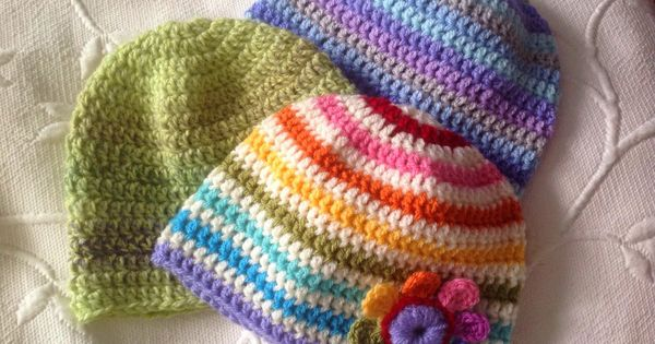 A simple and quick baby and toddler hat (Suz Crochet ...